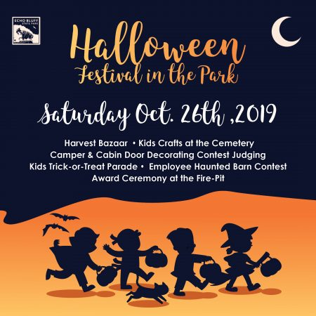 halloween festival at Echo Bluff State Park