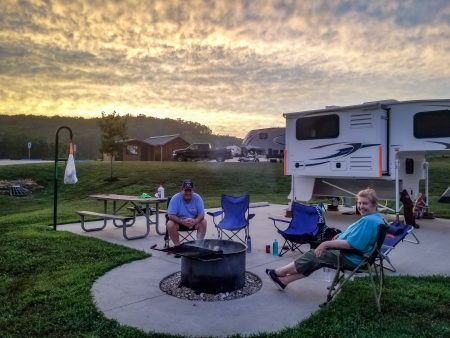 rv campground in echo bluff