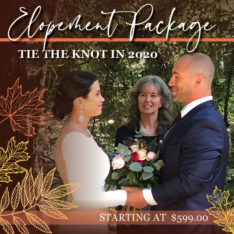 Tie the Knot in 2020 with Echo Bluff's Elopement Packages