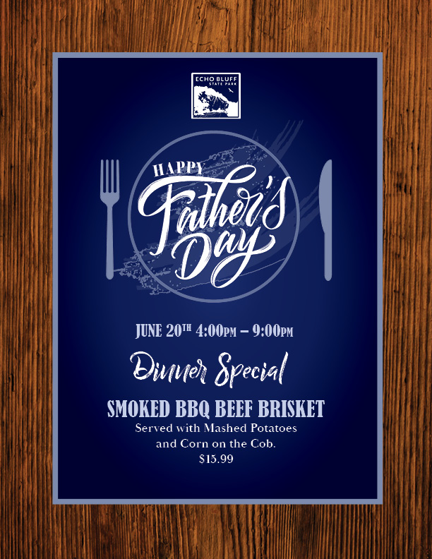 father's day brisket special image